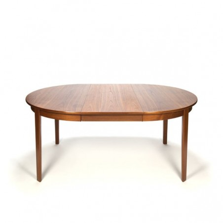 Danish teak design dining table round/ oval model