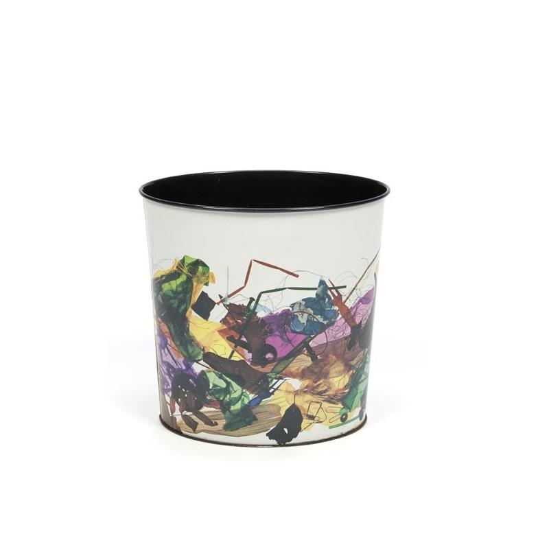 Metal waste basket by Tomado