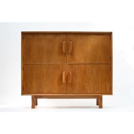 1950's birchwood cabinet