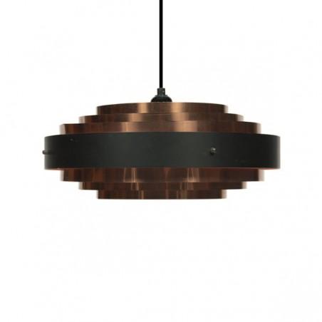 Brass hanging lamp Danish design
