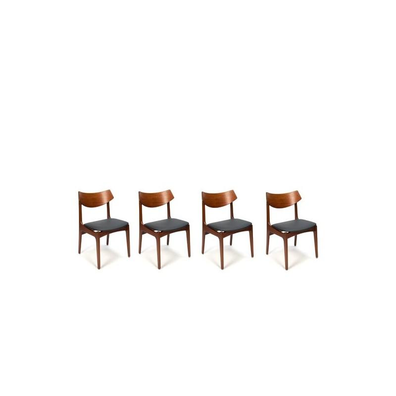 Set van 4 Funder-Schmidt & Madsen stoelen