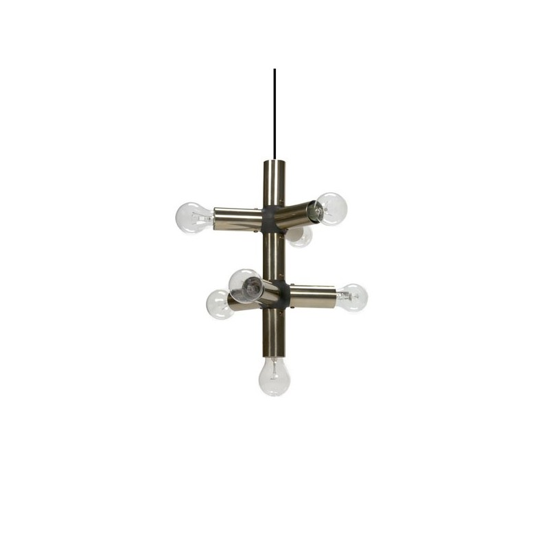 Hanging light brass/ black