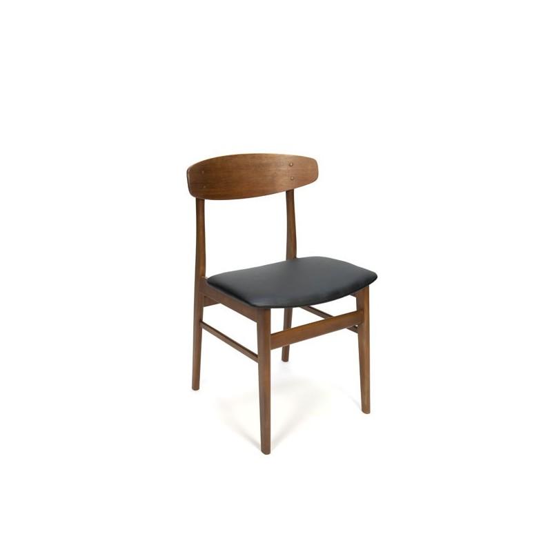 Set van 4 Deense eettafel stoelen SAX