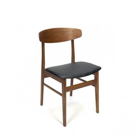Set of 4 Danish dining chairs SAX