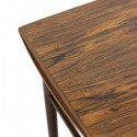 Rosewood nesting tables set of 3