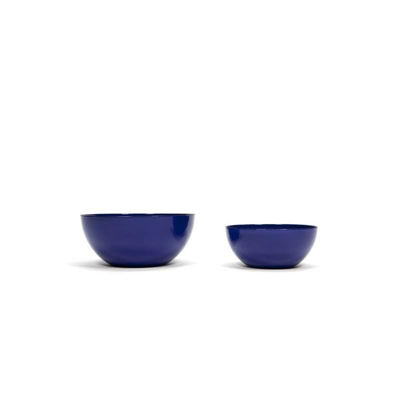 Finel enamelled bowls designed by Kaj Franck