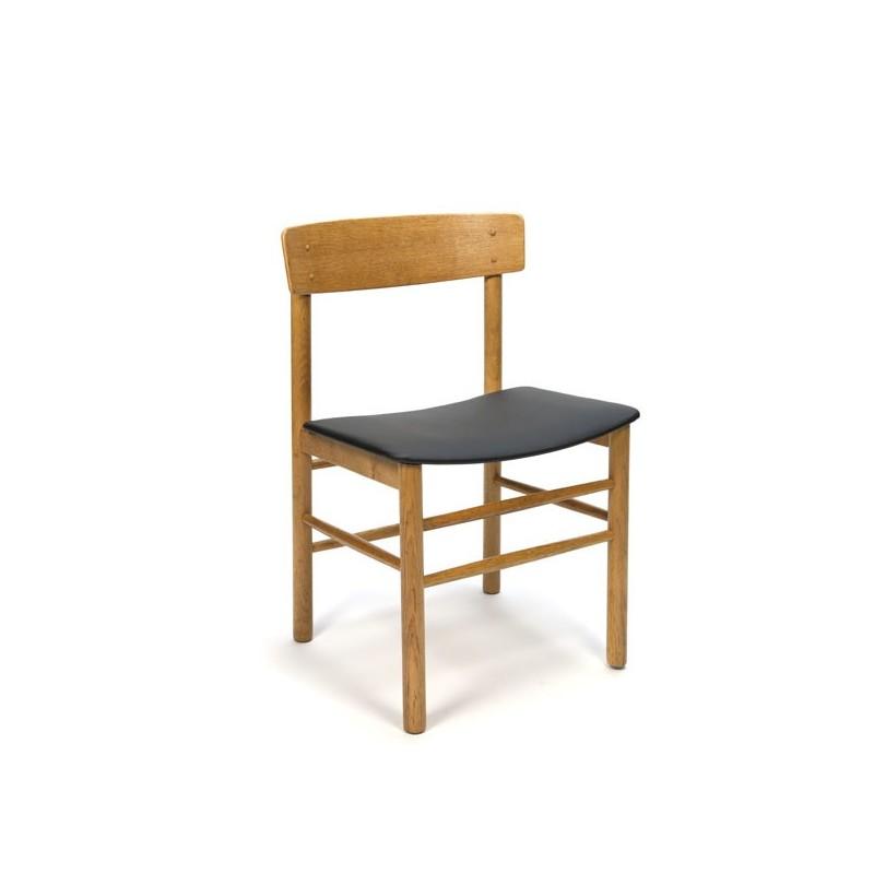 Danish Modern Dining Chair: Danish Modern Dining Chair In Oak