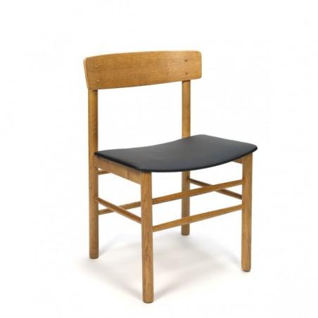 Danish modern dining chair in oak