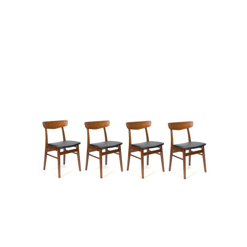 Set van 4 Farstrup stoelen