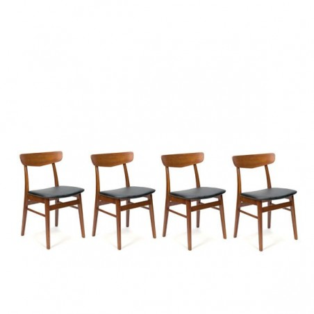 Set of 4 Farstrup chairs