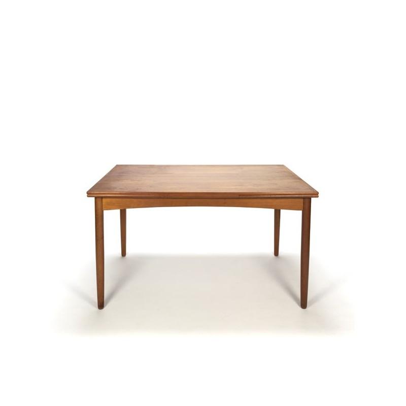 Danish modern design dining table in teak
