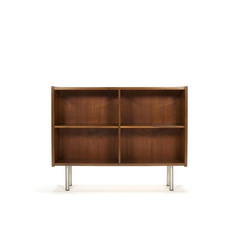 Danish teak bookcase low model