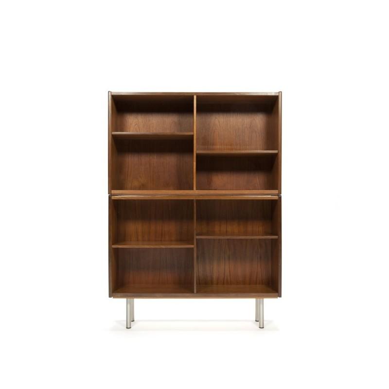 Danish teak bookcase high model