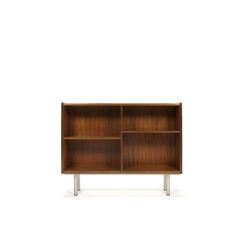 Danish bookcase in teak low model