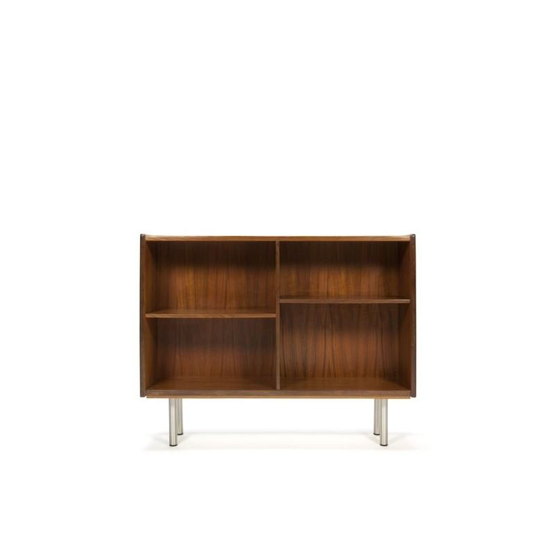 Deense boekenkast in teak laag model