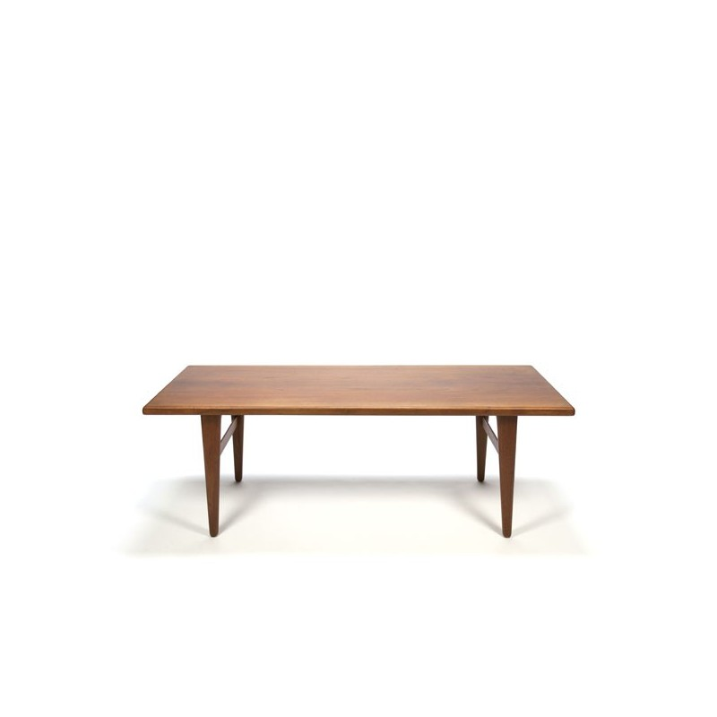 Deense teakhouten salontafel