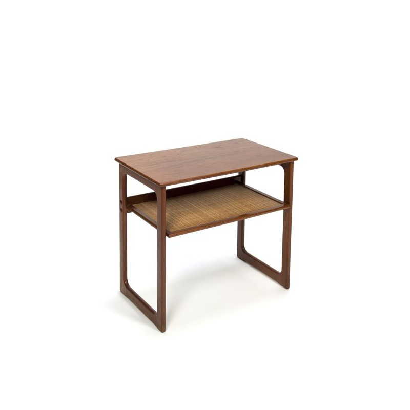 Small side table in teak
