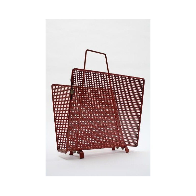 Artimeta magazine rack red