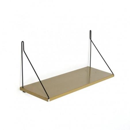 Metalen boekenplank groen