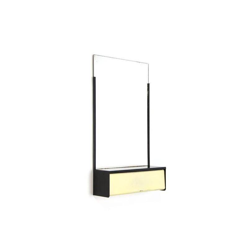 Metalen spiegel van Brabantia