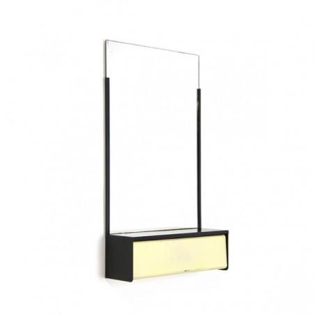 Metal mirror by Brabantia