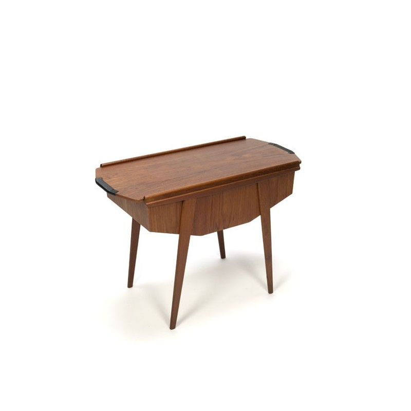 Danish sewing table in teak