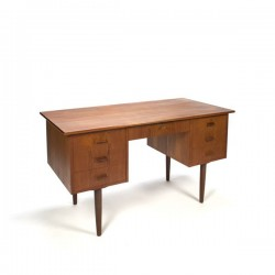 Danish design desk in teak vintage