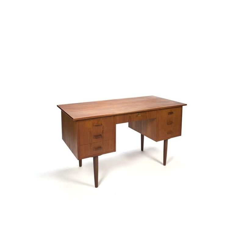 Danish design desk in teak vintage