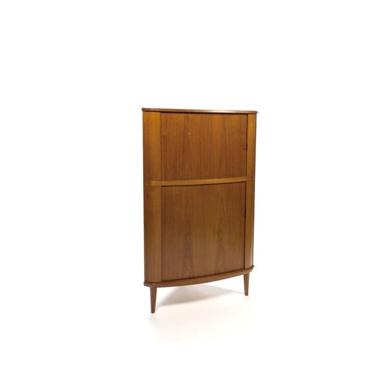 Skovmand & Andersen corner cabinet in teak