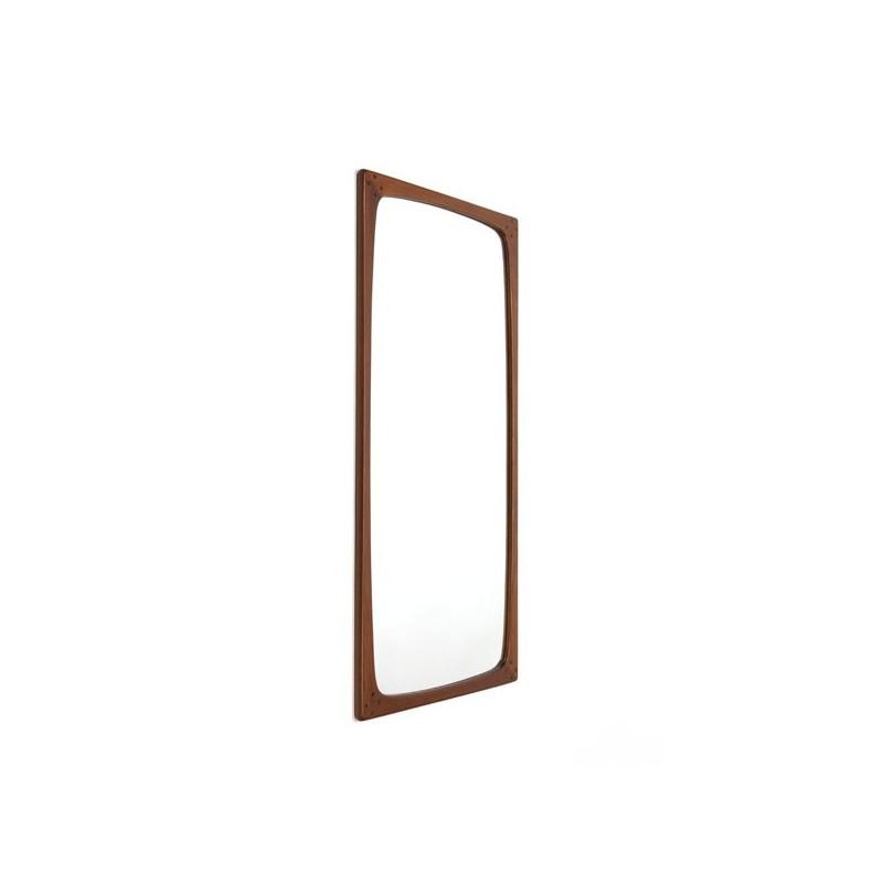 Large luxury mirror in teak