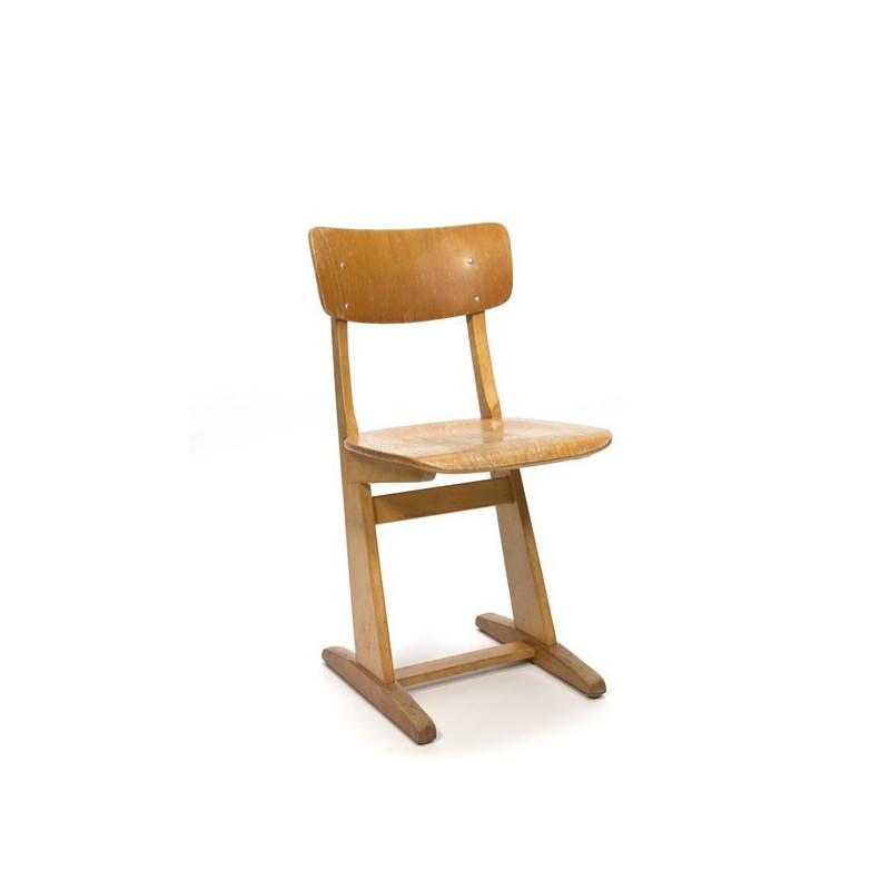 Houten stoel van Casala