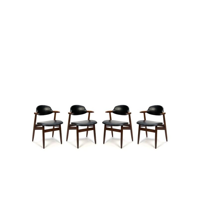 Koehoorn stoelen set van 4