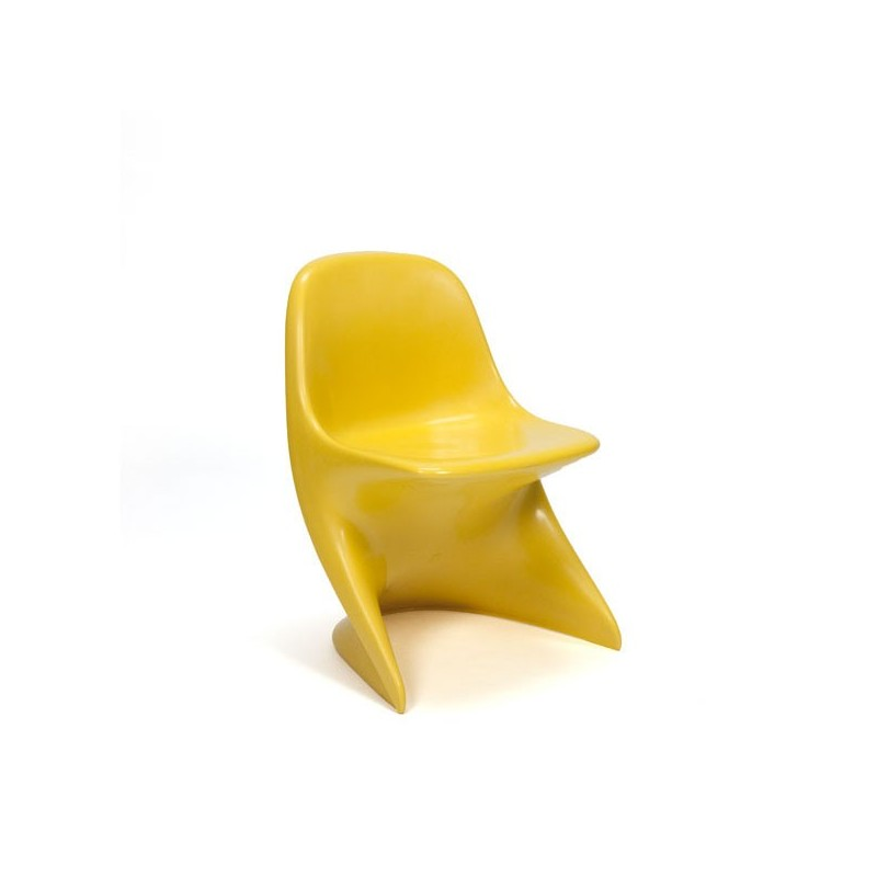 Cassation chair for children yellow