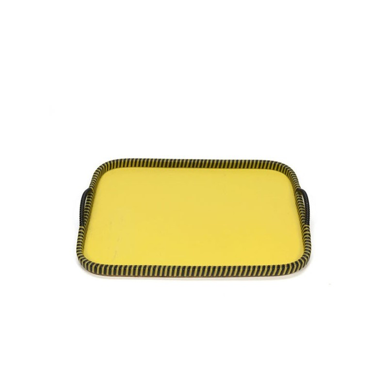 yellow tray 1950s