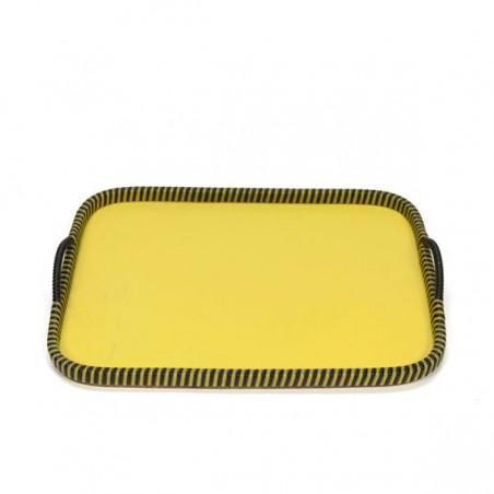 yellow tray 1950s