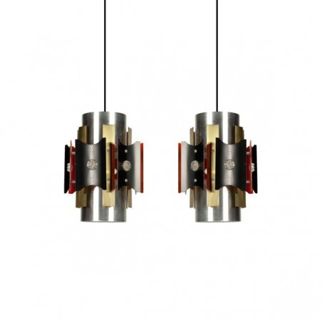 Set of 2 pendants 1970s