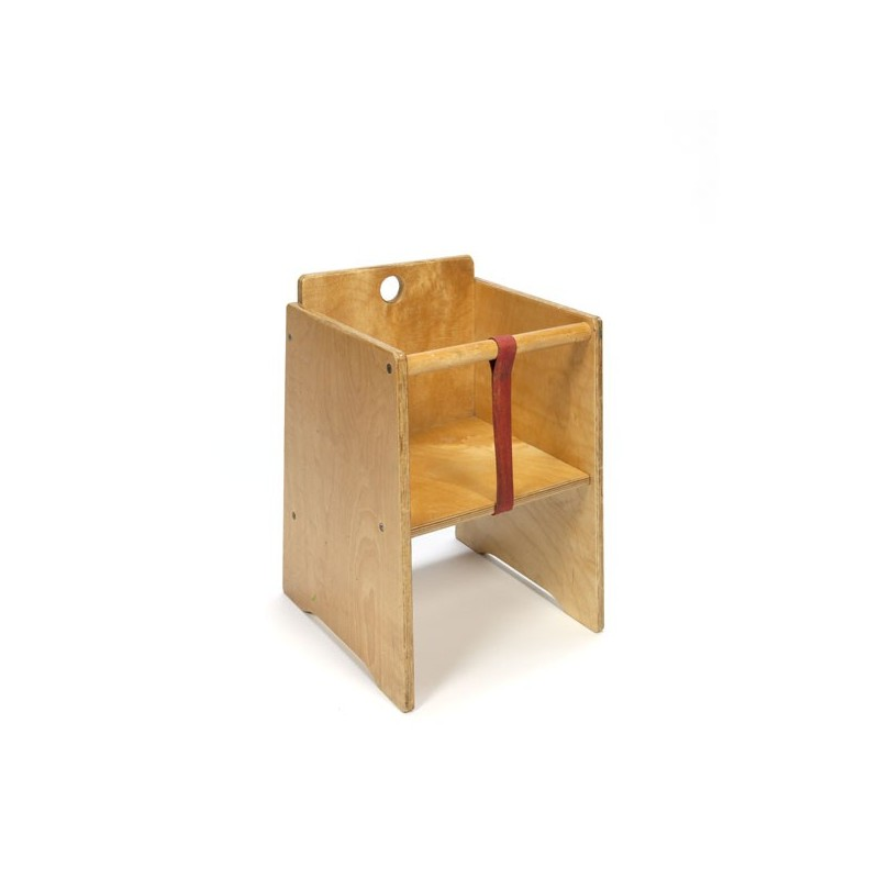 Lacquered wooden chair