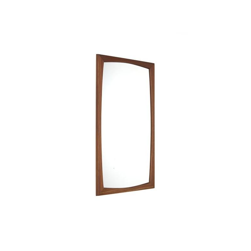 Oksel Kjersgaard mirror model 103 in teak