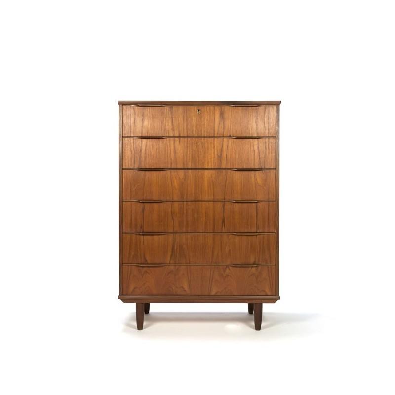 High model dresser in teak