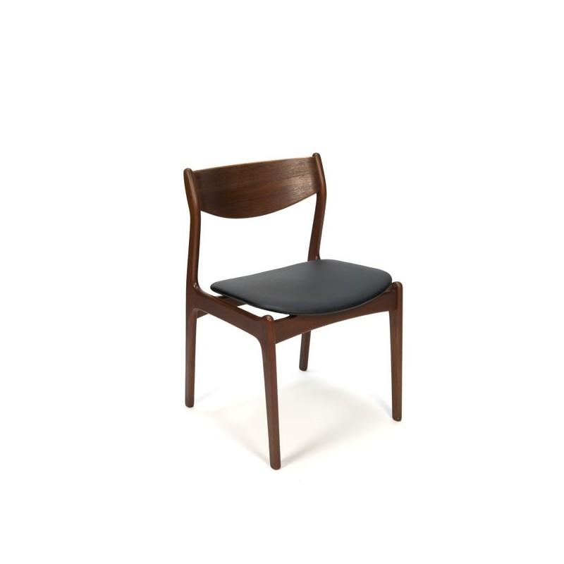 Set van 6 Erik Buck stoelen