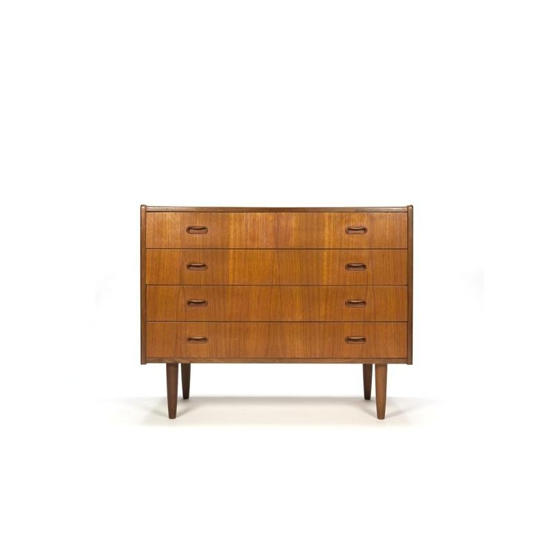 Low model dresser in teak