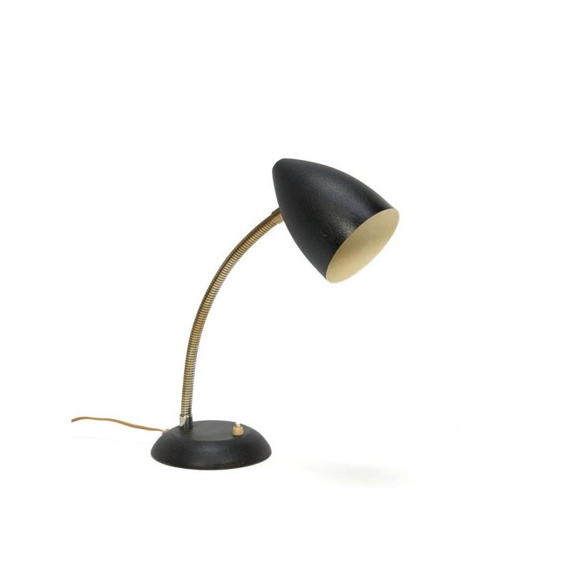 Zwarte tafellamp van Hala