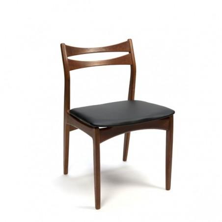 Set of 6 Danish design dining chairs