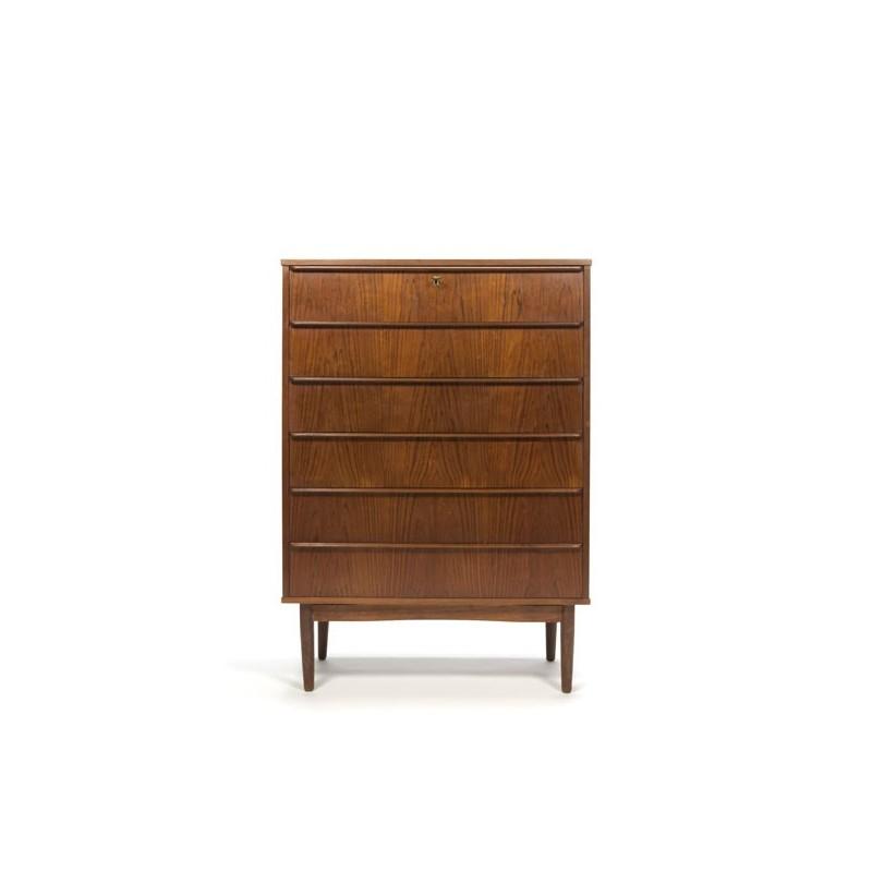 Teak chest of drawers from Denmark