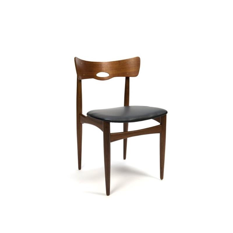 Deense teakhouten stoel van Bramin