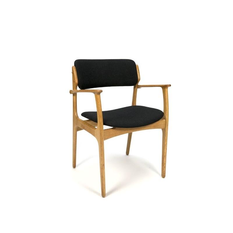 Erik Buck desk chair in oak