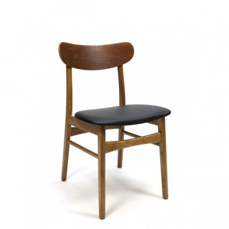 Set of 6 Danish teak dining chairs
