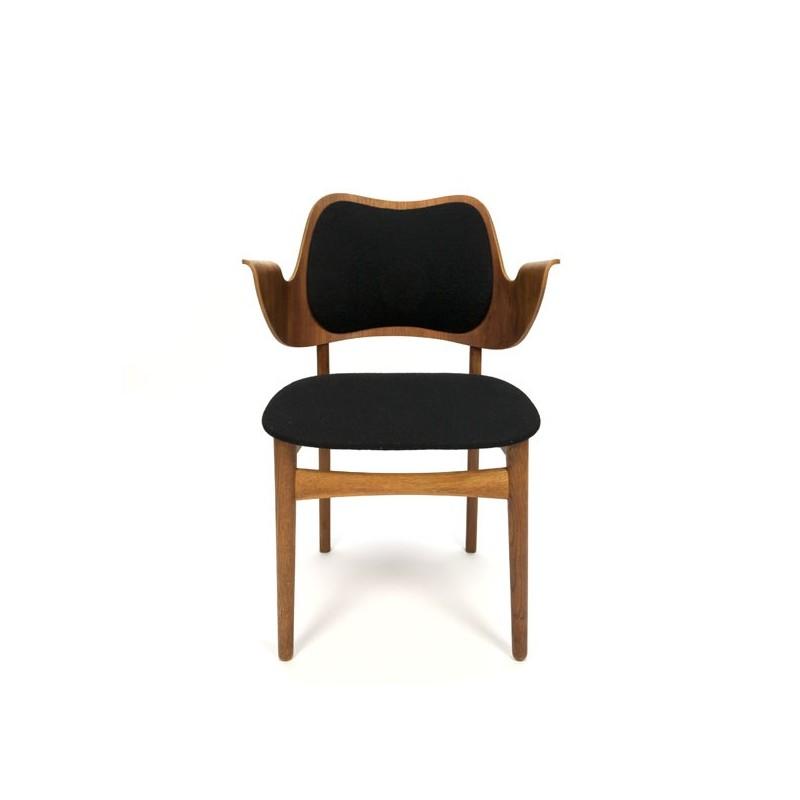 Deense design stoel van H. Olsen voor Bramin