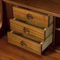 Danish teak bookcase/ secretary