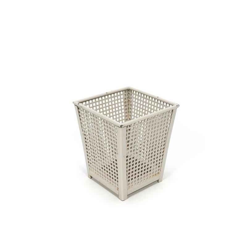 Perforated metal flower pot